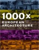 books - 1000X European Architecture - Monolab - Body House