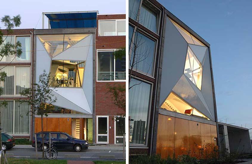 Body House Rotterdam, particulier opdrachtgeverschap, urban town house