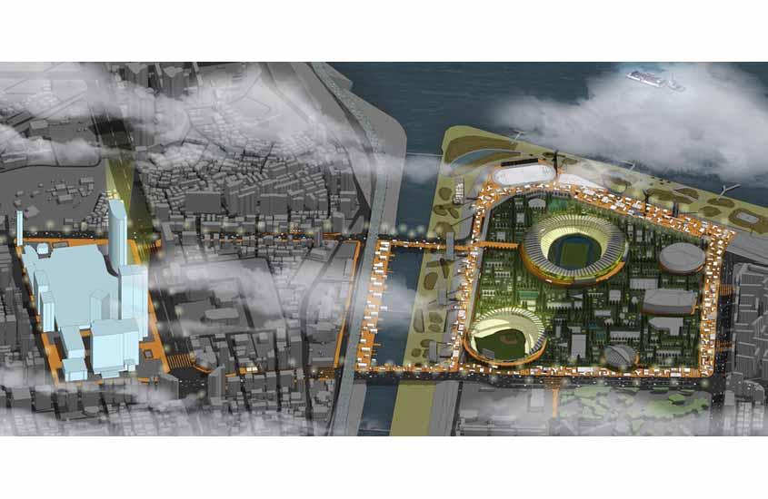 Seoul Get Ready, Urban Regeneration Jamsil Sports Complex Seoul