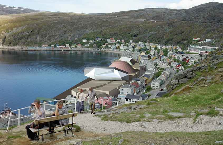 ACC Hammerfest, urban web space, arctic cultural center