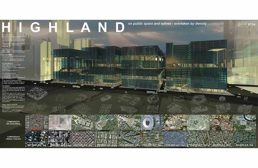 Highland, evolo 2011, high density architecture