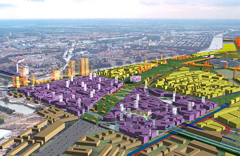 Stadscentrum Leidsche Rijn, Leidsche Rijn City Center, pedestrian paradise