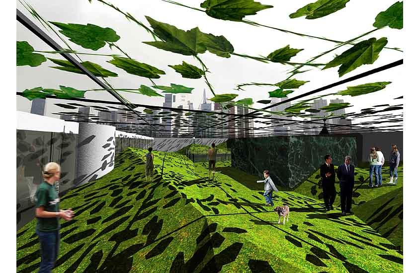 Processor Rotterdam, burgemeester zoekt woning BNA, new residence for the Rotterdam mayor, roof garden