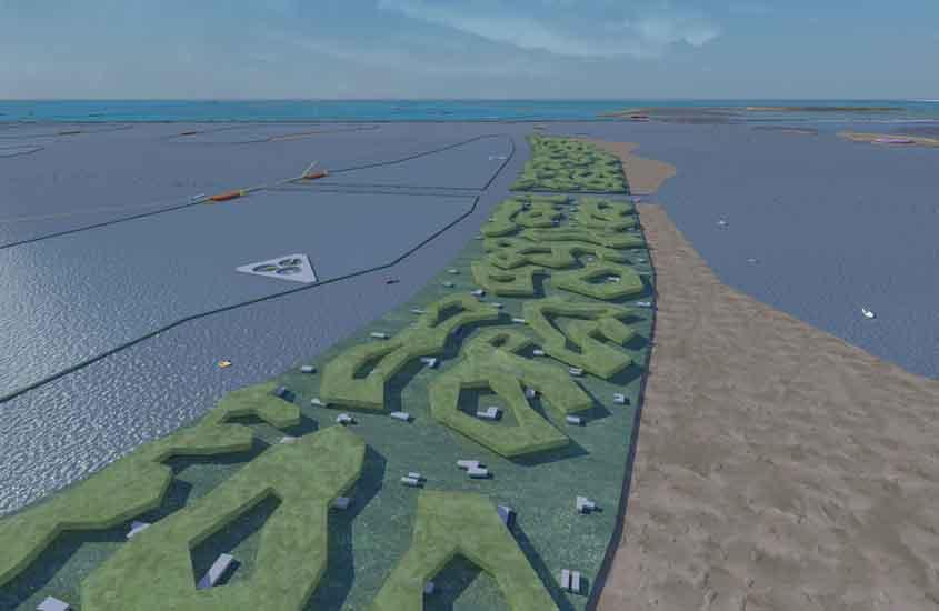 visie afsluitdijk, visie noord Nederland, archipel, maritime network, maritiem netwerk