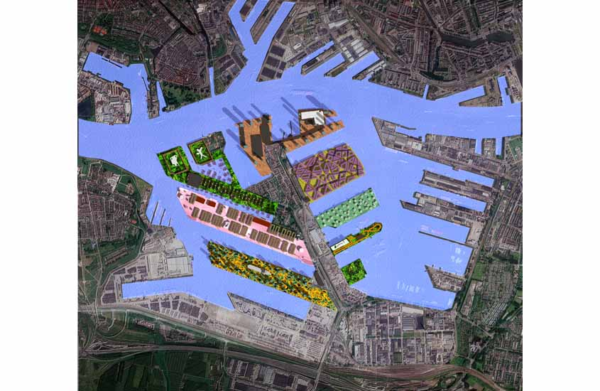 stadshavens rotterdam, urban mosaic